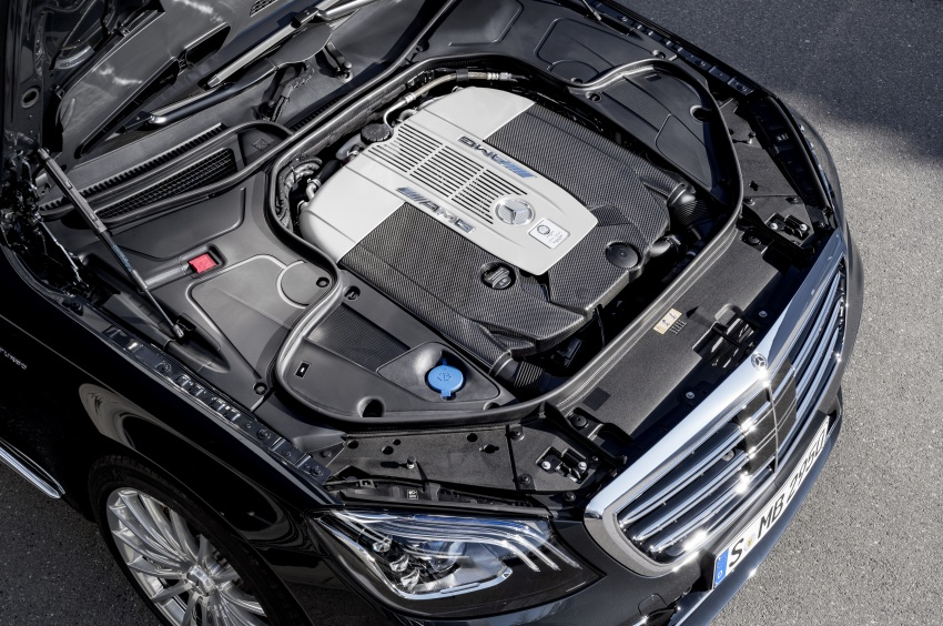 W222 Mercedes-Benz S-Class facelift debuts – new engines, enhanced styling, additional technologies Image #647594