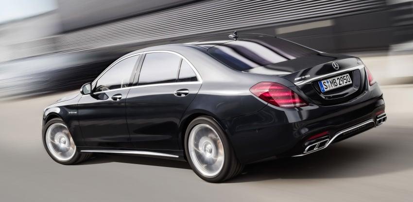 W222 Mercedes-Benz S-Class facelift diperkenalkan – enjin baharu, imej dipertingkat, teknologi ditambah Image #647725