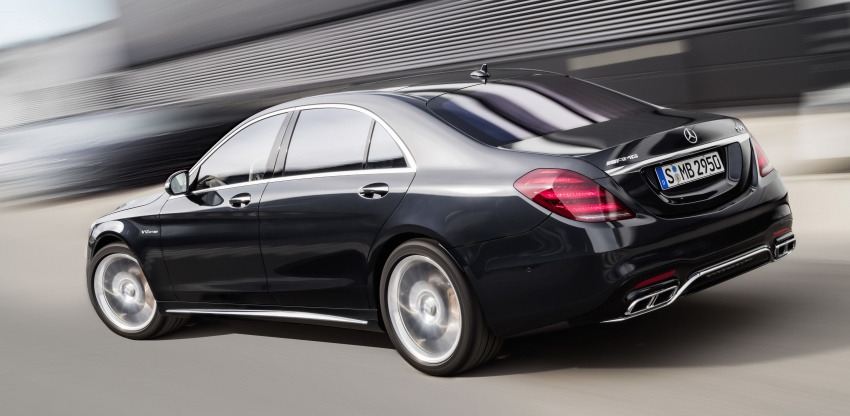 W222 Mercedes-Benz S-Class facelift debuts – new engines, enhanced styling, additional technologies Image #647578
