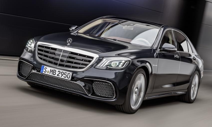 W222 Mercedes-Benz S-Class facelift diperkenalkan – enjin baharu, imej dipertingkat, teknologi ditambah Image #647726