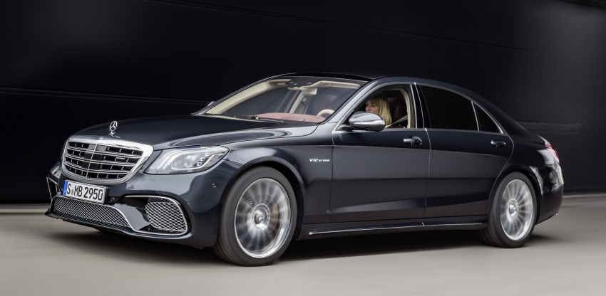 W222 Mercedes-Benz S-Class facelift debuts – new engines, enhanced styling, additional technologies Image #647580