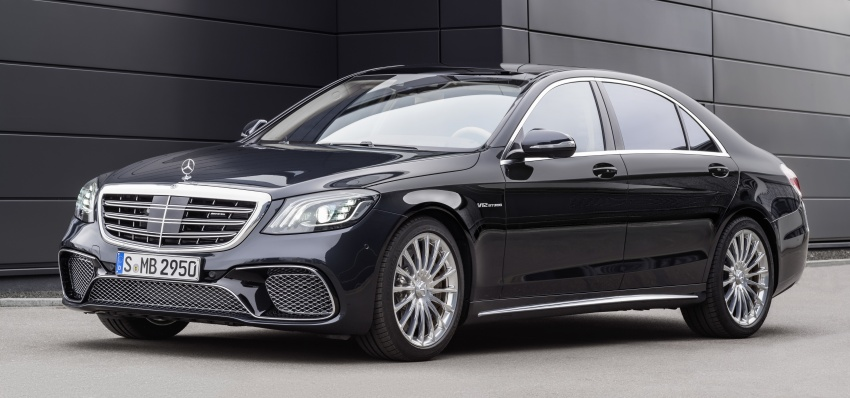 W222 Mercedes-Benz S-Class facelift debuts – new engines, enhanced styling, additional technologies Image #647581