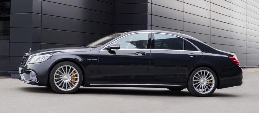 W222 Mercedes-Benz S-Class facelift diperkenalkan – enjin baharu, imej dipertingkat, teknologi ditambah Image #647729