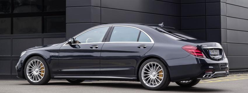 W222 Mercedes-Benz S-Class facelift diperkenalkan – enjin baharu, imej dipertingkat, teknologi ditambah Image #647730