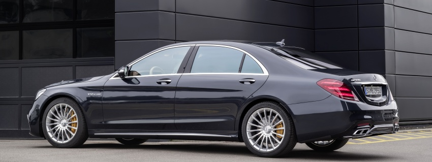 W222 Mercedes-Benz S-Class facelift debuts – new engines, enhanced styling, additional technologies Image #647583