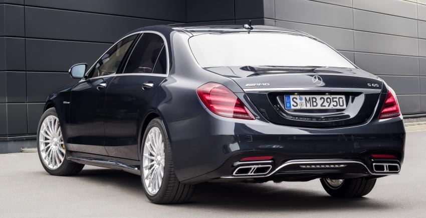 W222 Mercedes-Benz S-Class facelift diperkenalkan – enjin baharu, imej dipertingkat, teknologi ditambah Image #647731