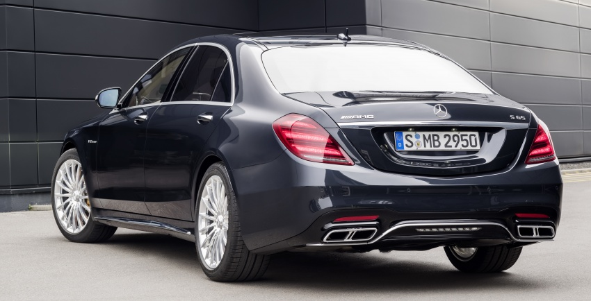 W222 Mercedes-Benz S-Class facelift debuts – new engines, enhanced styling, additional technologies Image #647584