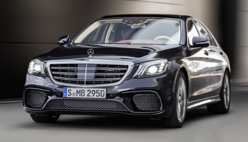 W222 Mercedes-Benz S-Class facelift debuts – new engines, enhanced styling, additional technologies Image #647585