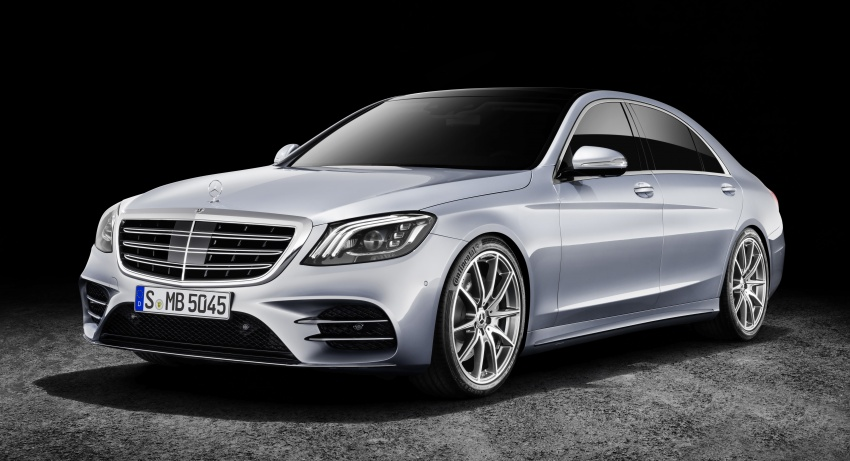 W222 Mercedes-Benz S-Class facelift debuts – new engines, enhanced styling, additional technologies Image #647372