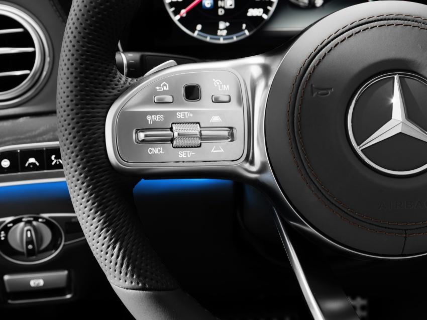 W222 Mercedes-Benz S-Class facelift diperkenalkan – enjin baharu, imej dipertingkat, teknologi ditambah Image #647818