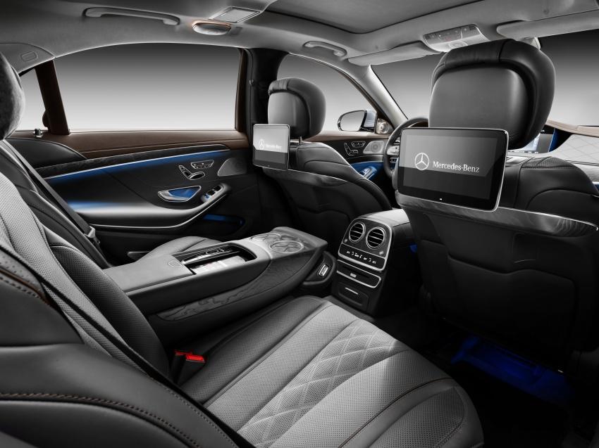 W222 Mercedes-Benz S-Class facelift diperkenalkan – enjin baharu, imej dipertingkat, teknologi ditambah Image #647820
