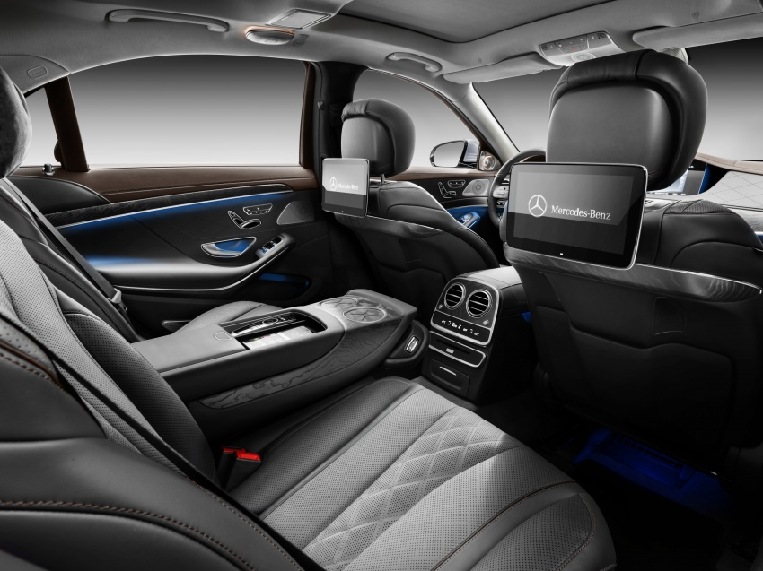 W222 Mercedes-Benz S-Class facelift debuts – new engines, enhanced styling, additional technologies Image #647392