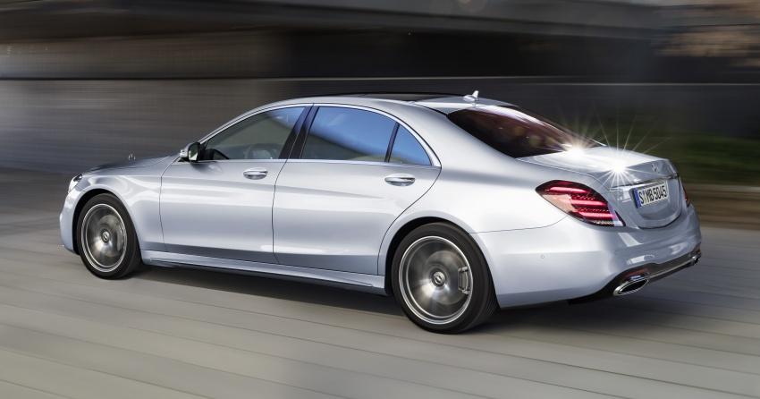W222 Mercedes-Benz S-Class facelift diperkenalkan – enjin baharu, imej dipertingkat, teknologi ditambah Image #647822