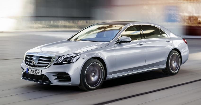 W222 Mercedes-Benz S-Class facelift diperkenalkan – enjin baharu, imej dipertingkat, teknologi ditambah Image #647823