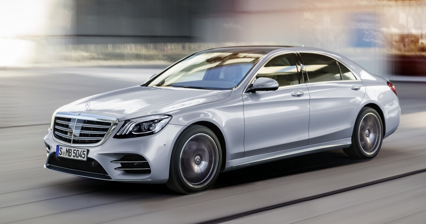 W222 Mercedes-Benz S-Class facelift debuts – new engines, enhanced styling, additional technologies Image #647395