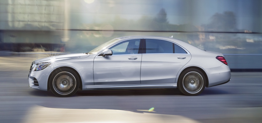 W222 Mercedes-Benz S-Class facelift debuts – new engines, enhanced styling, additional technologies Image #647396