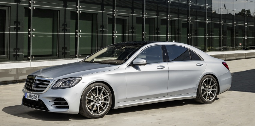 W222 Mercedes-Benz S-Class facelift debuts – new engines, enhanced styling, additional technologies Image #647398