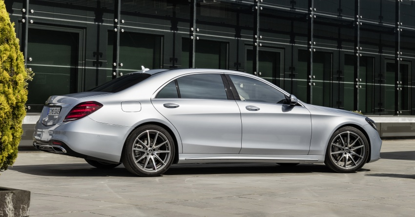 W222 Mercedes-Benz S-Class facelift debuts – new engines, enhanced styling, additional technologies Image #647399