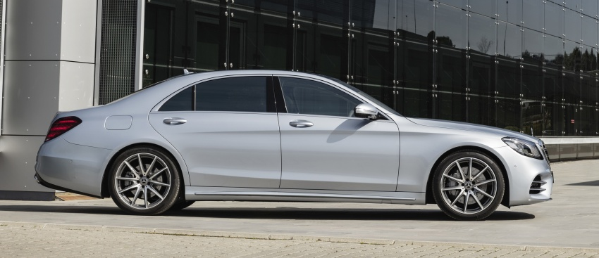 W222 Mercedes-Benz S-Class facelift debuts – new engines, enhanced styling, additional technologies Image #647400