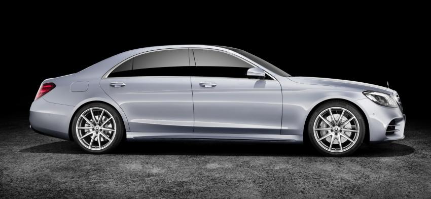 W222 Mercedes-Benz S-Class facelift diperkenalkan – enjin baharu, imej dipertingkat, teknologi ditambah Image #647798