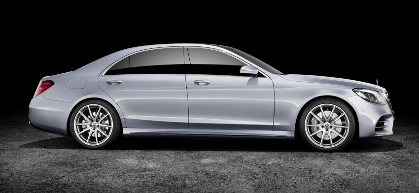 W222 Mercedes-Benz S-Class facelift debuts – new engines, enhanced styling, additional technologies Image #647373