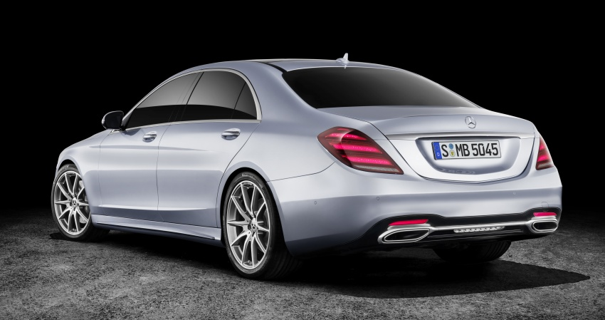 W222 Mercedes-Benz S-Class facelift debuts – new engines, enhanced styling, additional technologies Image #647374