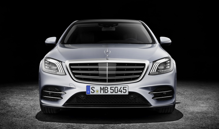 W222 Mercedes-Benz S-Class facelift debuts – new engines, enhanced styling, additional technologies Image #647377