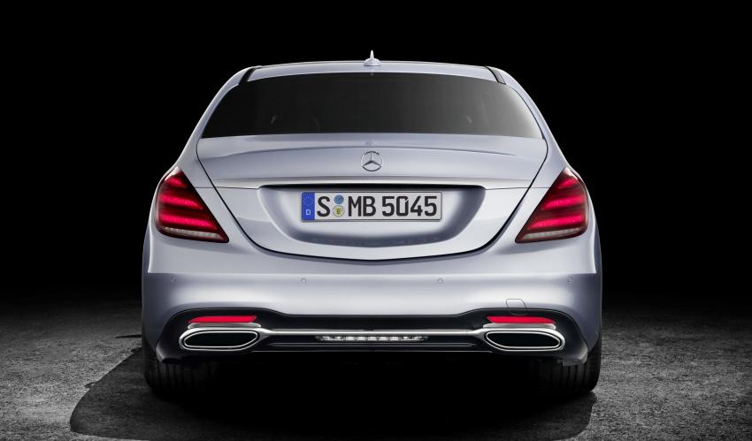 W222 Mercedes-Benz S-Class facelift diperkenalkan – enjin baharu, imej dipertingkat, teknologi ditambah Image #647804