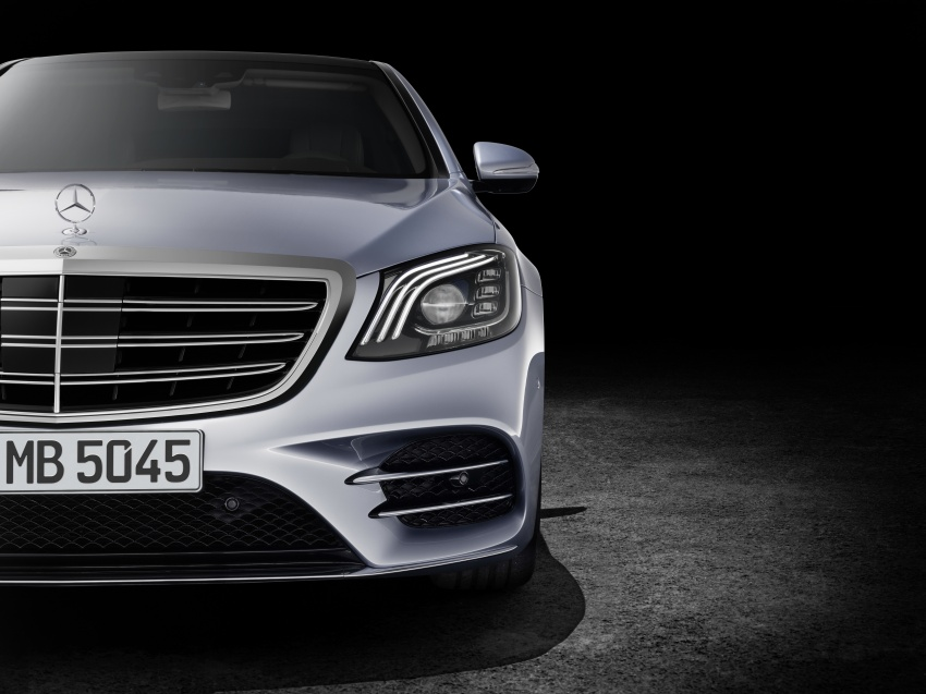 W222 Mercedes-Benz S-Class facelift debuts – new engines, enhanced styling, additional technologies Image #647382