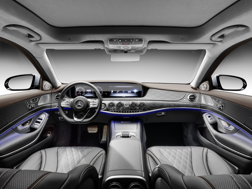 W222 Mercedes-Benz S-Class facelift debuts – new engines, enhanced styling, additional technologies Image #647384