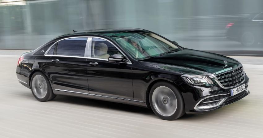 W222 Mercedes-Benz S-Class facelift diperkenalkan – enjin baharu, imej dipertingkat, teknologi ditambah Image #647752