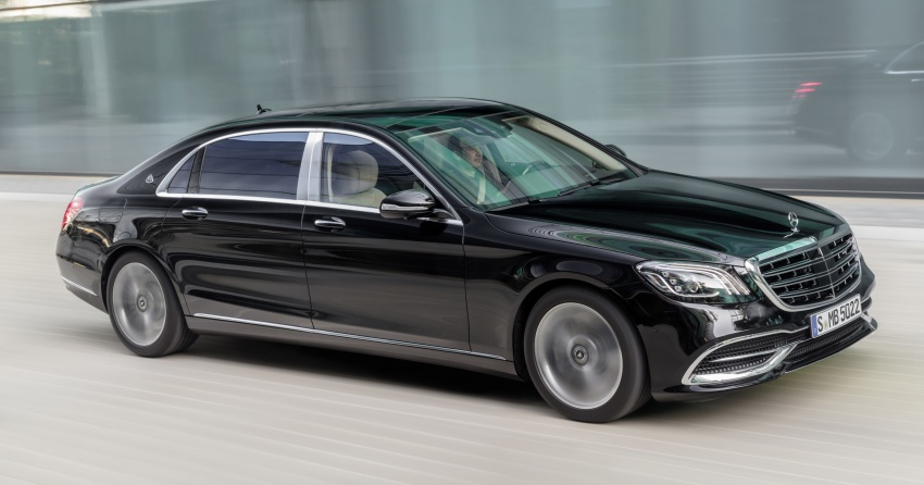 W222 Mercedes-Benz S-Class facelift debuts – new engines, enhanced styling, additional technologies Image #647358