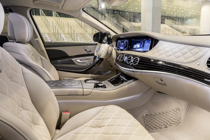 W222 Mercedes-Benz S-Class facelift debuts – new engines, enhanced styling, additional technologies Image #647370