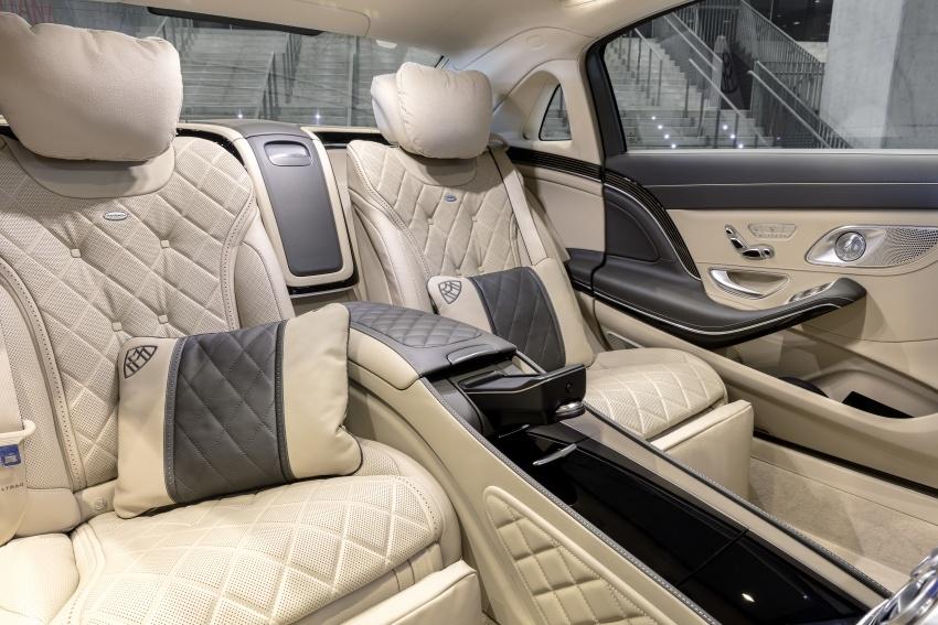 W222 Mercedes-Benz S-Class facelift diperkenalkan – enjin baharu, imej dipertingkat, teknologi ditambah Image #647783