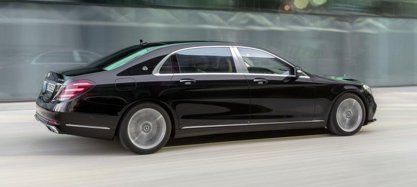 W222 Mercedes-Benz S-Class facelift diperkenalkan – enjin baharu, imej dipertingkat, teknologi ditambah Image #647753