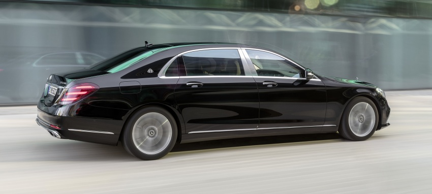 W222 Mercedes-Benz S-Class facelift debuts – new engines, enhanced styling, additional technologies Image #647359