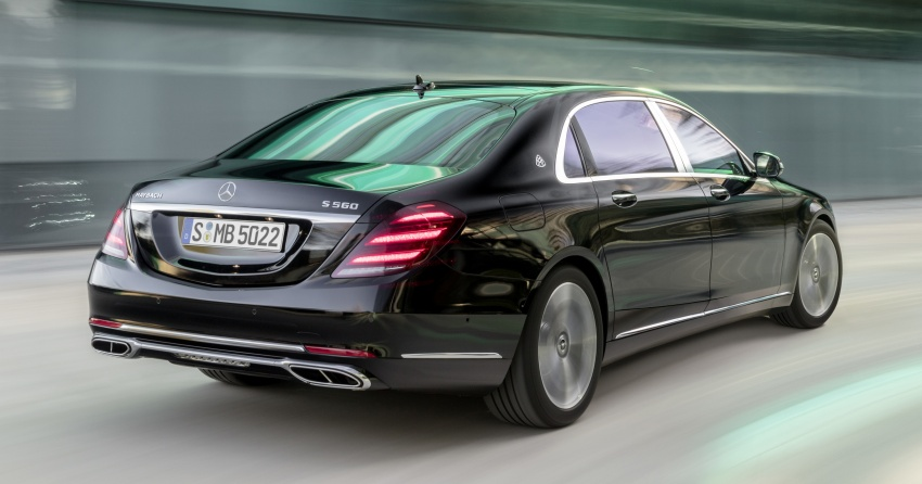 W222 Mercedes-Benz S-Class facelift debuts – new engines, enhanced styling, additional technologies Image #647360