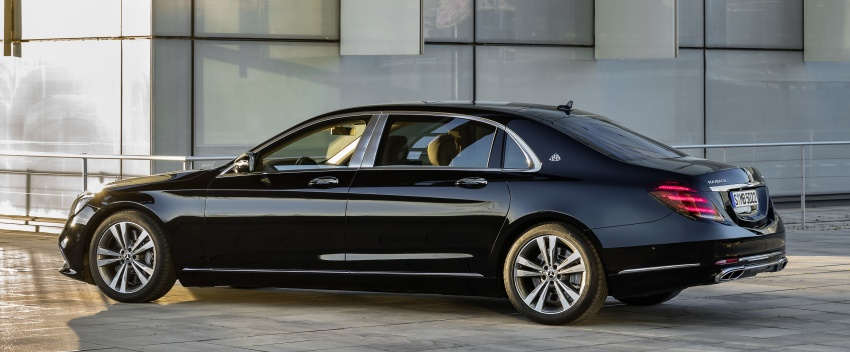 W222 Mercedes-Benz S-Class facelift debuts – new engines, enhanced styling, additional technologies Image #647362