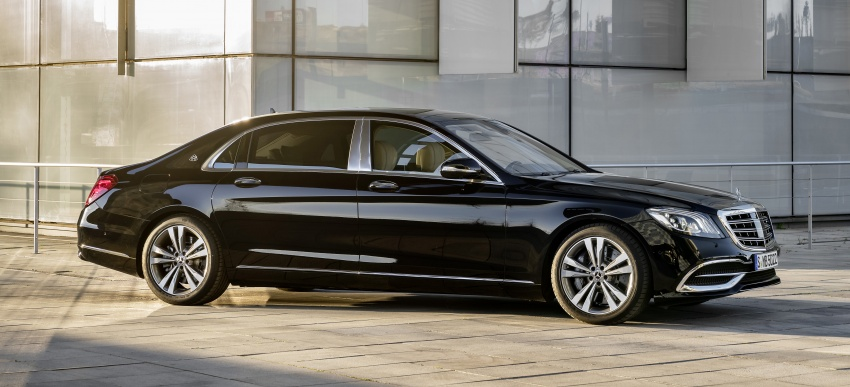 W222 Mercedes-Benz S-Class facelift debuts – new engines, enhanced styling, additional technologies Image #647363