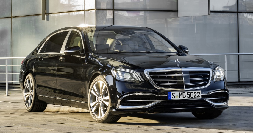 W222 Mercedes-Benz S-Class facelift debuts – new engines, enhanced styling, additional technologies Image #647364
