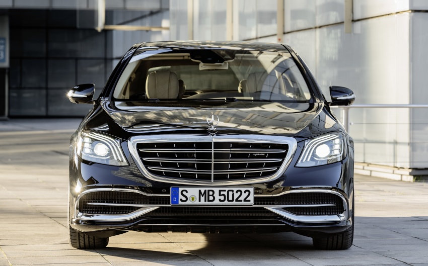 W222 Mercedes-Benz S-Class facelift debuts – new engines, enhanced styling, additional technologies Image #647365