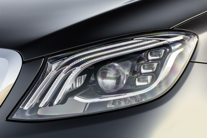 W222 Mercedes-Benz S-Class facelift diperkenalkan – enjin baharu, imej dipertingkat, teknologi ditambah Image #647768