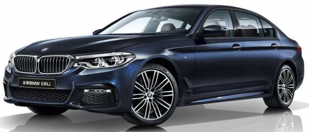 Bmw 5 Series Long Wheelbase For China From Rm290k