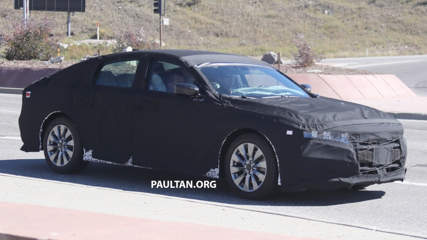 SPYSHOTS: 2018 Honda Accord strips some camo Image #646661