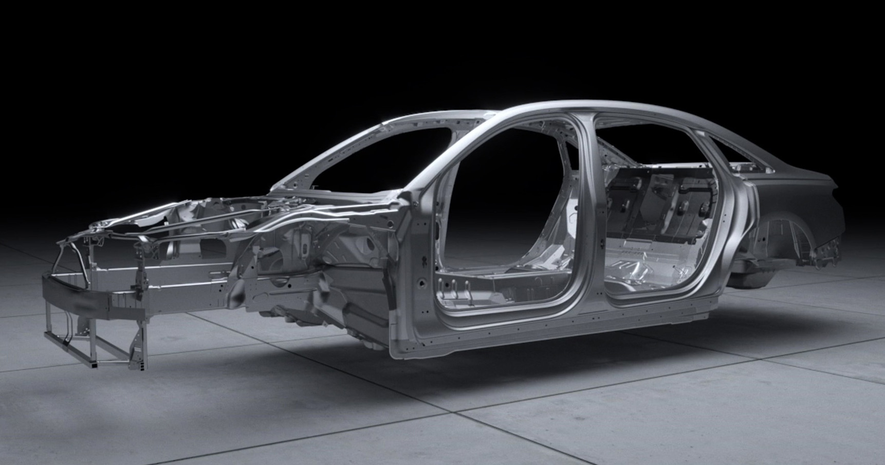 Video D5 Audi A8 S Space Frame Virtually Showcased
