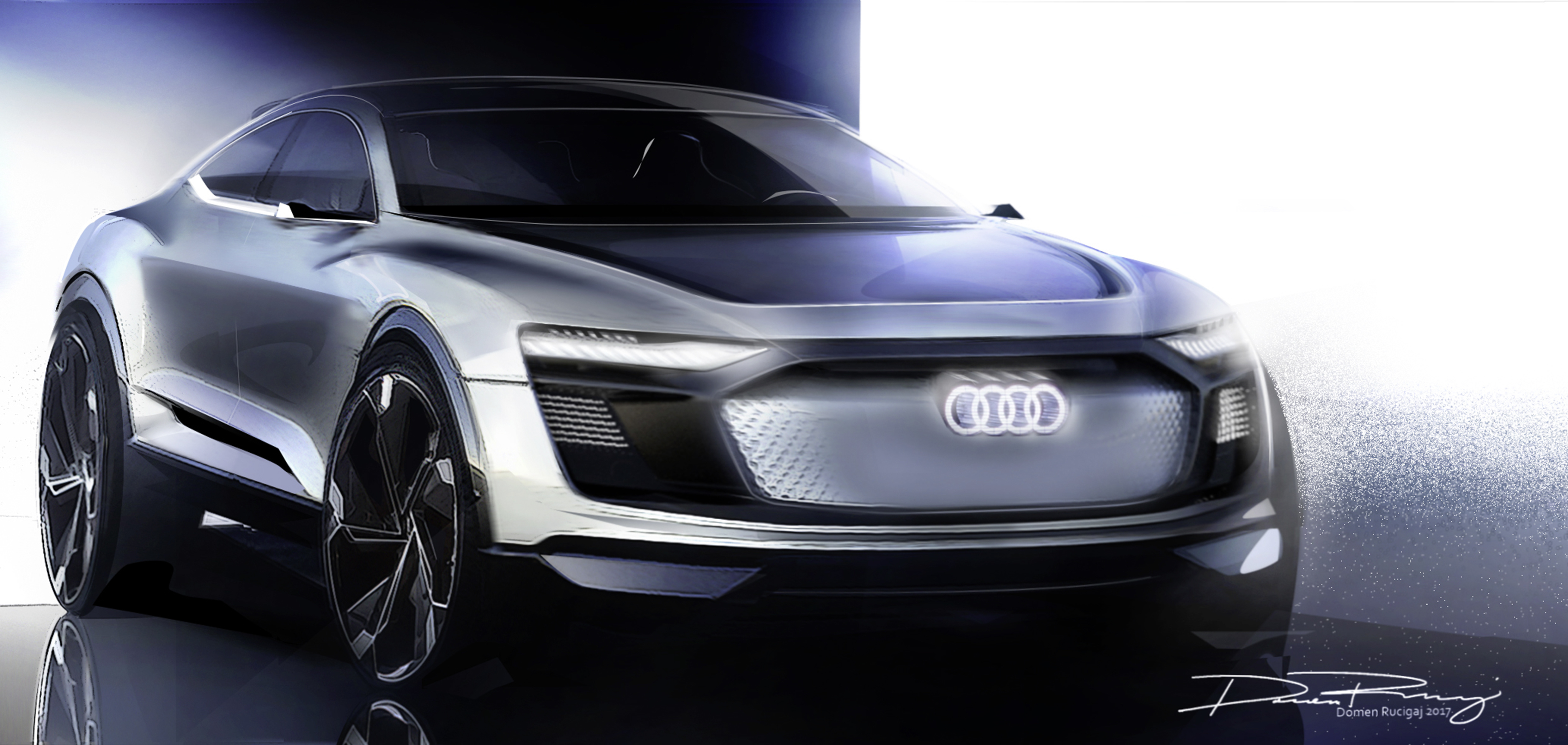 Audi Etron Sportback Concept Set For Production Image - Audi car pics
