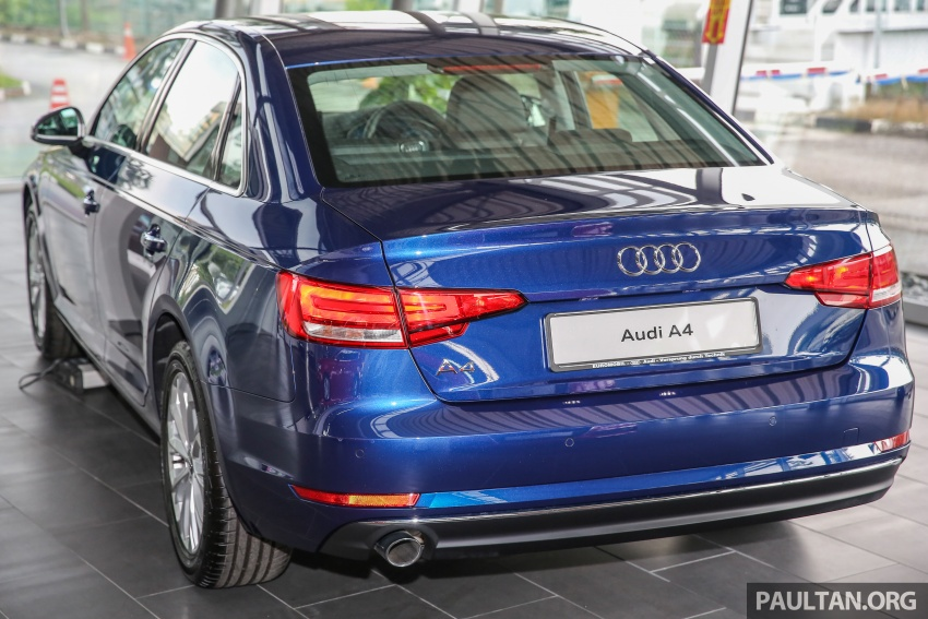GALERI: Audi A4 1.4 TFSI, A4 2.0 TFSI quattro baharu di M'sia – masing-masing berharga RM219k, RM315k Image #644326
