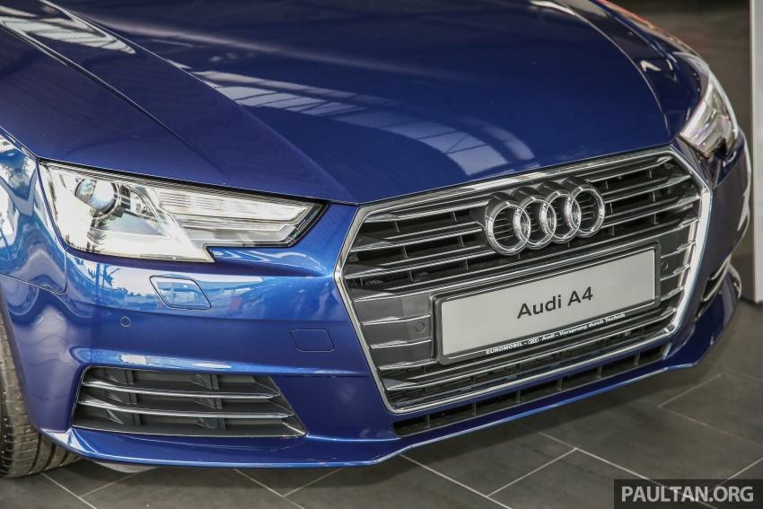 GALERI: Audi A4 1.4 TFSI, A4 2.0 TFSI quattro baharu di M'sia – masing-masing berharga RM219k, RM315k Image #644301