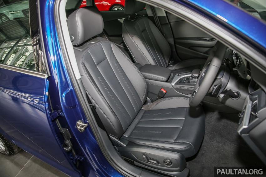 GALERI: Audi A4 1.4 TFSI, A4 2.0 TFSI quattro baharu di M'sia – masing-masing berharga RM219k, RM315k Image #644282