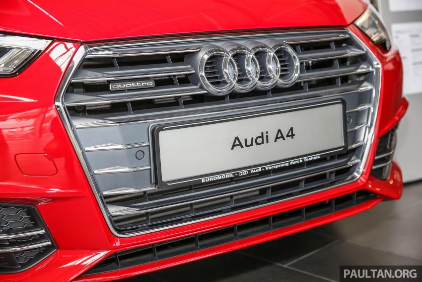 GALERI: Audi A4 1.4 TFSI, A4 2.0 TFSI quattro baharu di M'sia – masing-masing berharga RM219k, RM315k Image #644395